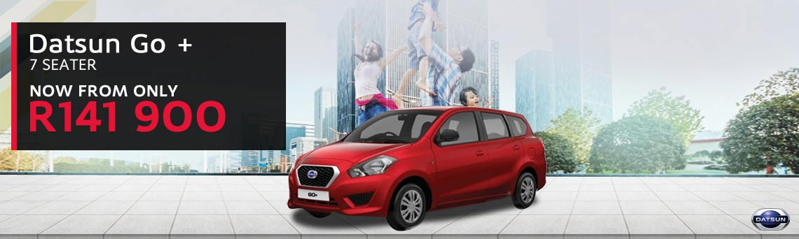 Datsun Go + - From Only R141 900